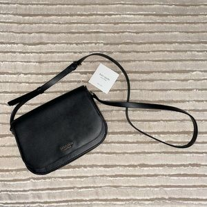 Kate Spade leather saddle bag